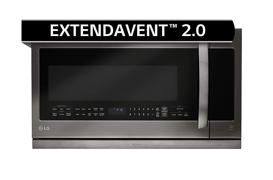2 2 cu ft over the range microwave oven with easyclean
