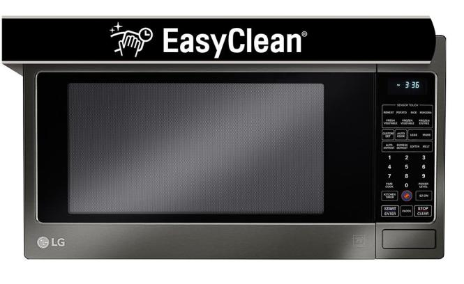 Lg Lcrt2010bd Countertop Microwave