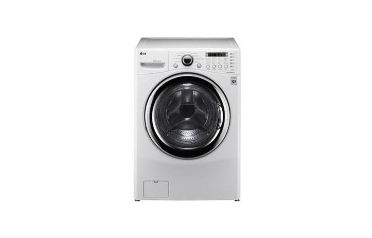 LG WM3987HW Front Load Washer Dryer Combo LG USA