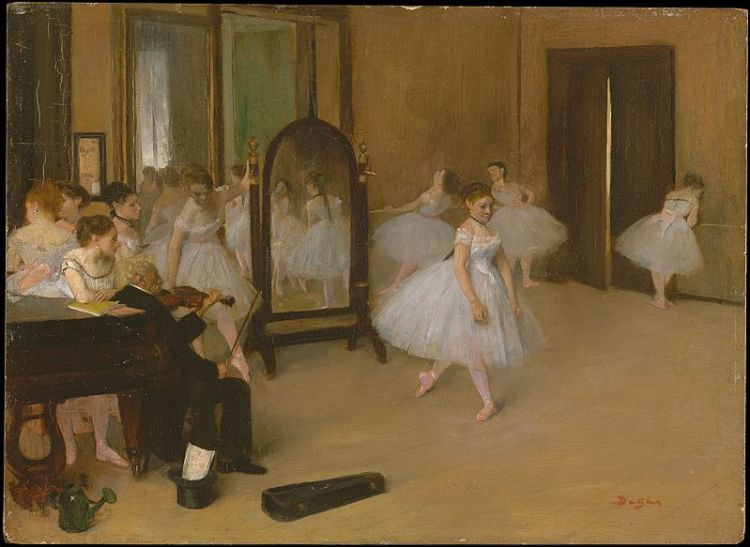 undivided heart degas ballet