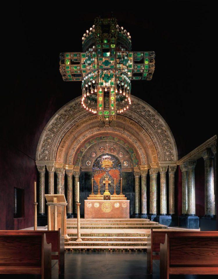 Morse Museum, Tiffany chapel 2