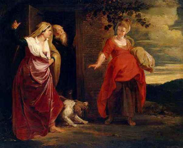 Do you have a vision problem? 'Hagar Leaves the House of Abraham', Peter Paul Rubens, 1615- 1617