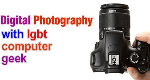 digital photography with lgbt computer geek