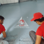DURACRETE DPB aplicare mortar poliuretanic