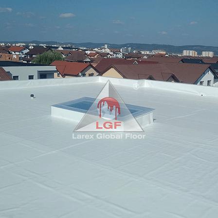 Hidroizolatie acoperis terasa acces scara atic