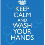 CDC - Keep Calm and Wash Your Hands