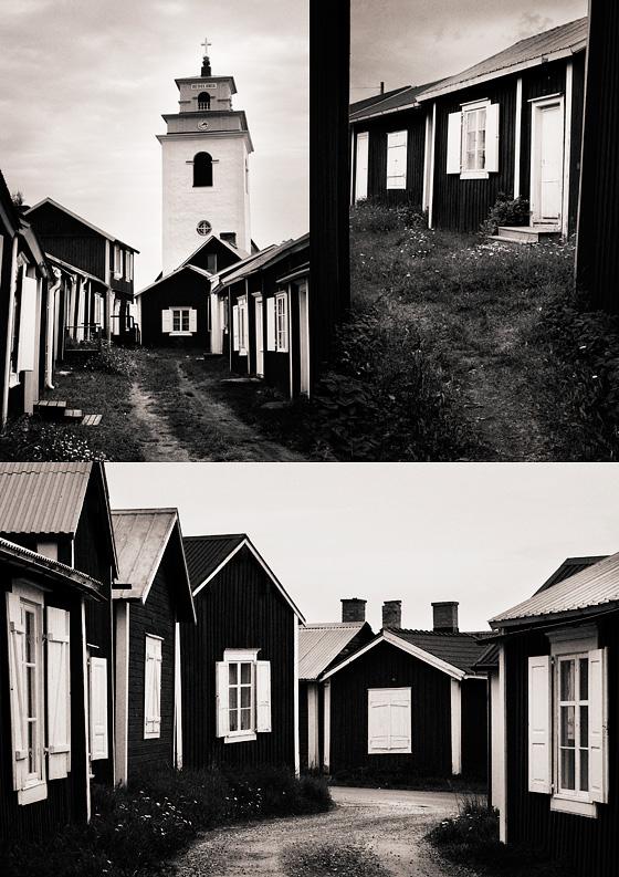 Kyrkbyn i Gammelstad, Luleå.