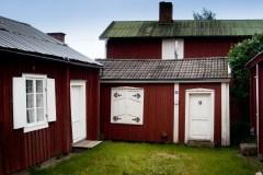 Kyrkstugor, Gammelstad, Luleå. Fotograf Lars-Göran Norlin
