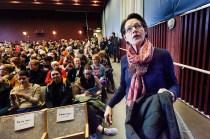 Gudryn Schyman på Örnässkolans aula