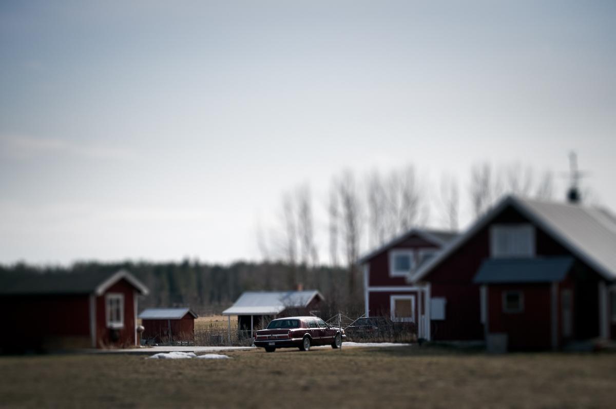 Bil i Bälinge Fotograf Lars-Göran Norlin