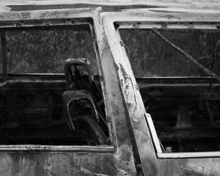 Utbrunnen bil. Fotograf Lars-Göran Norlin