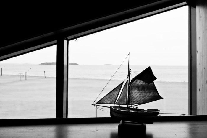 Båt. Fotograf Lars-Göran Norlin