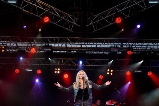 Bonnie Tyler. Fotograf Lars-Göran Norlin