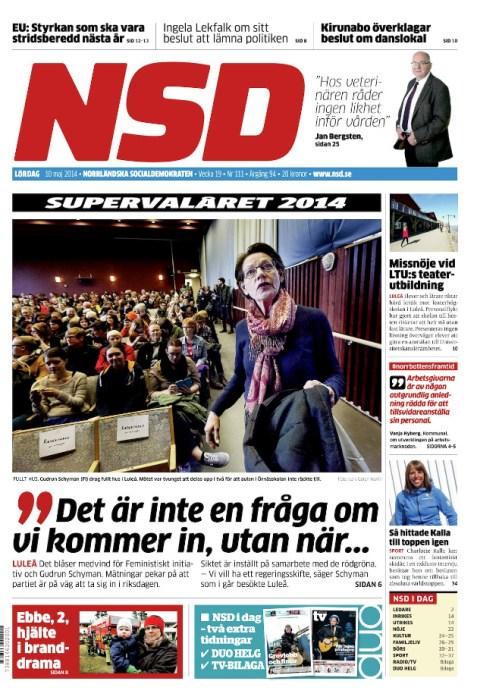 NSD 10 maj omslag