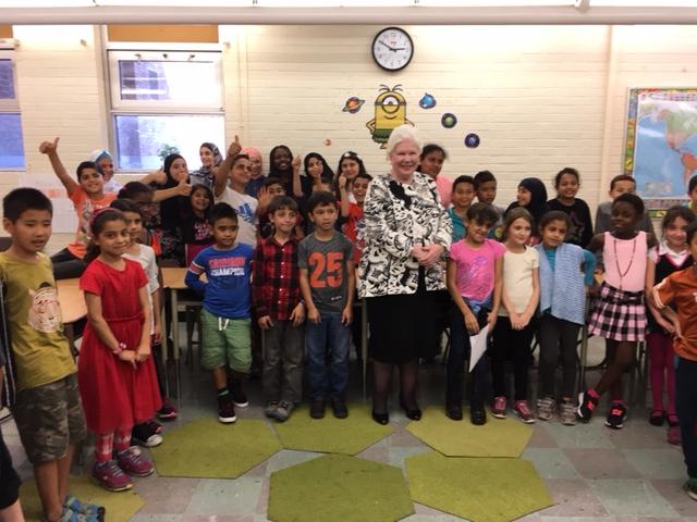Visit to Queen Victoria Public School