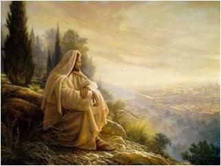 Jesus Vorbild für Stille und Einsamkeit