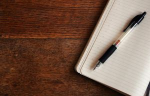 Was man sich am Besten für Notizen bei der Predigt macht