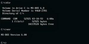Sistem Operasi DOS