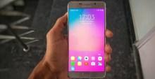 Samsung dengan Android 7 Nougat