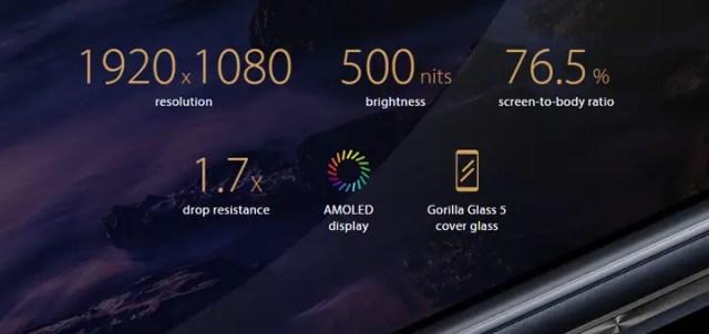 AMOLED - ASUS Zenfone 3 Zoom