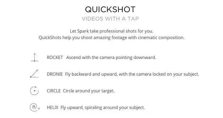 DJI Spark-quickshot
