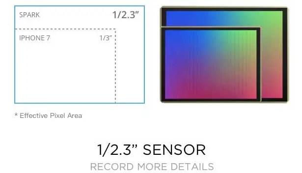 DJI Spark - sensor
