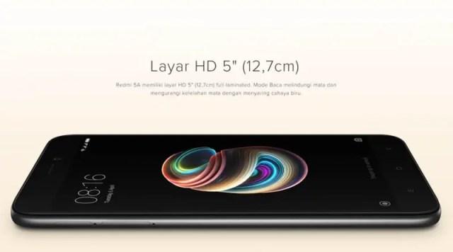Xiaomi Redmi 5A - Layar