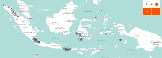 Peta Jangkauan Net1