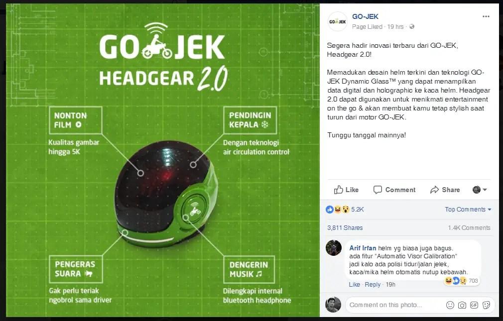 Headgear 2_0 GO-JEK