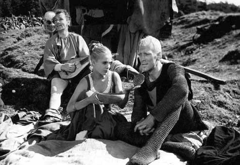 Le Septime sceau det Sjunde inseglet 1957 RŽal. : Ingmar Bergman Max Von Sydow