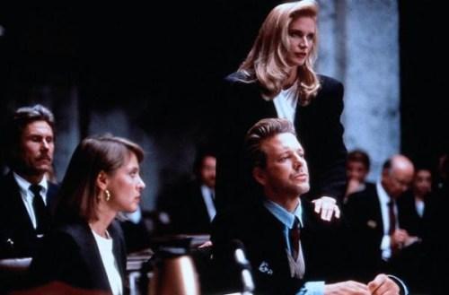 L'avocate et son cliente, le coup classique...