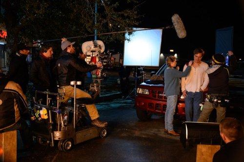 Michael Shannon pendant le tournage, un fidèle de Jeff Nichols