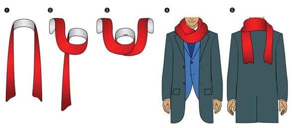 Porter une écharpe sans faire de nœud