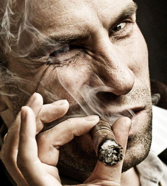 fumer le cigare