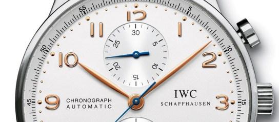 Montre IWC Chronograph FAMILLE PORTUGAISE