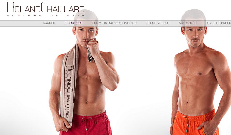 Maillot de bain homme sur mesure | Atelier Roland Chaillard