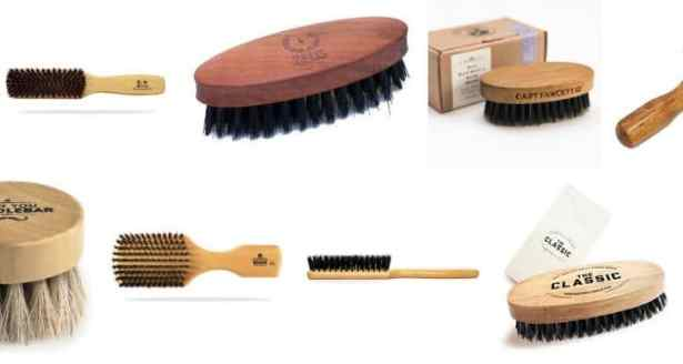 Se brosser la barbe pour nettoyer sa barbe