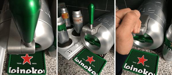 Heineken The Sub: machine à bière pression