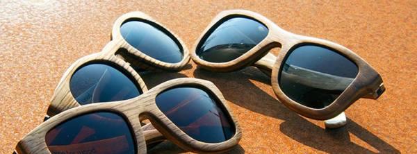 Lunettes de soleil en bois Time For Wood