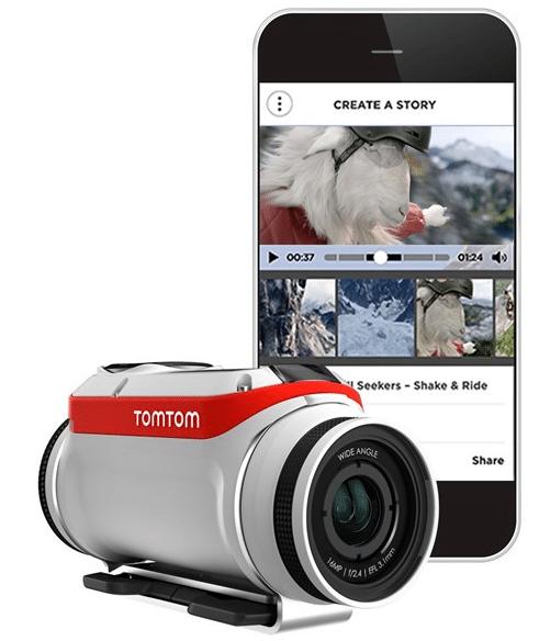 Caméra Bandit TomTom + smartphone