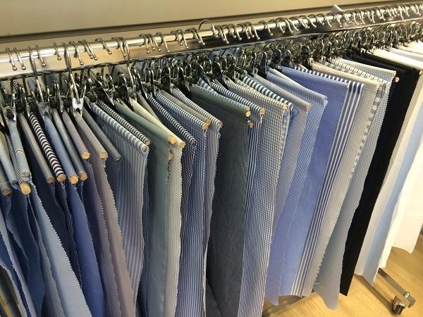 Choix des tissus et motifs pour la chemise sur-mesure