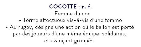 """""""Cocotte"""" définition"""
