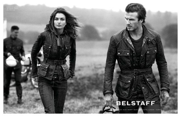 David Beckham pour Belstaff