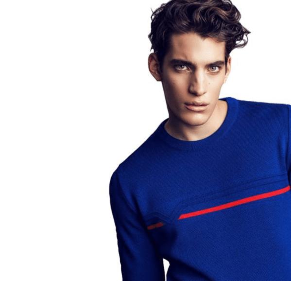 Pic de Nore: pulls bleu haut de gamme pour homme