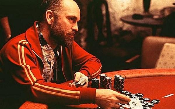 Poker face de john malkovich