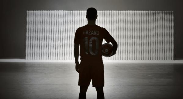 Eden Hazard face au mur