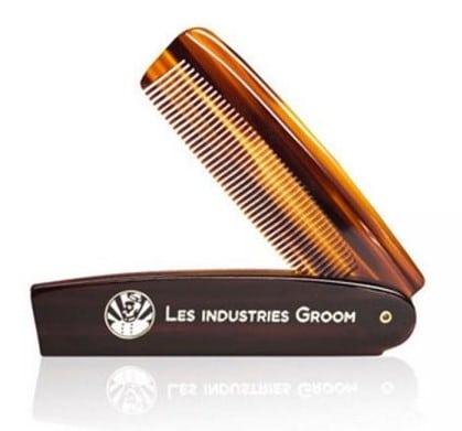 Entretien barbe: le peigne des Industries Groom