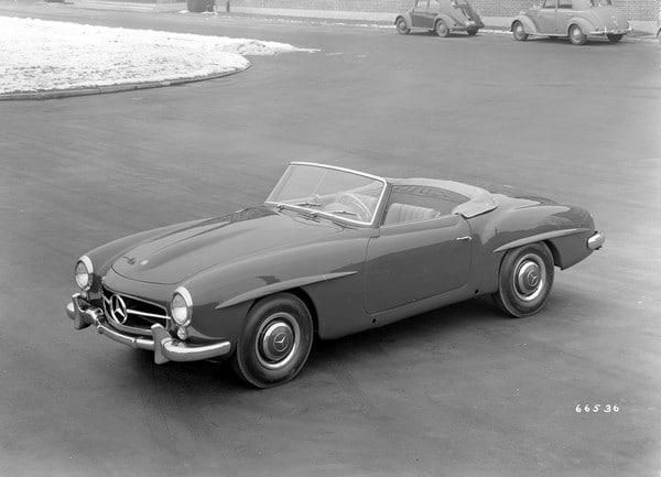 Mercedes-Benz 190 SL (W 121, 1955 bis 1963).