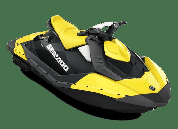 Moto marine SEA-DOO SPARK jaune