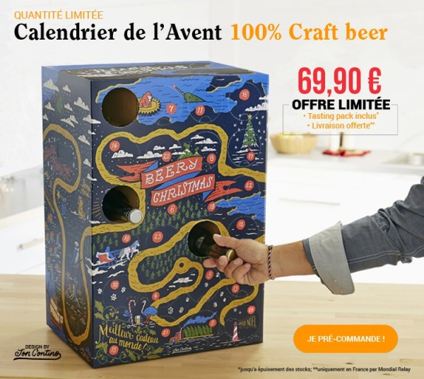 Calendrier de l'Avent des bières